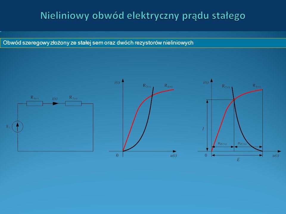 Nieliniowy obwód elektryczny prądu stałego