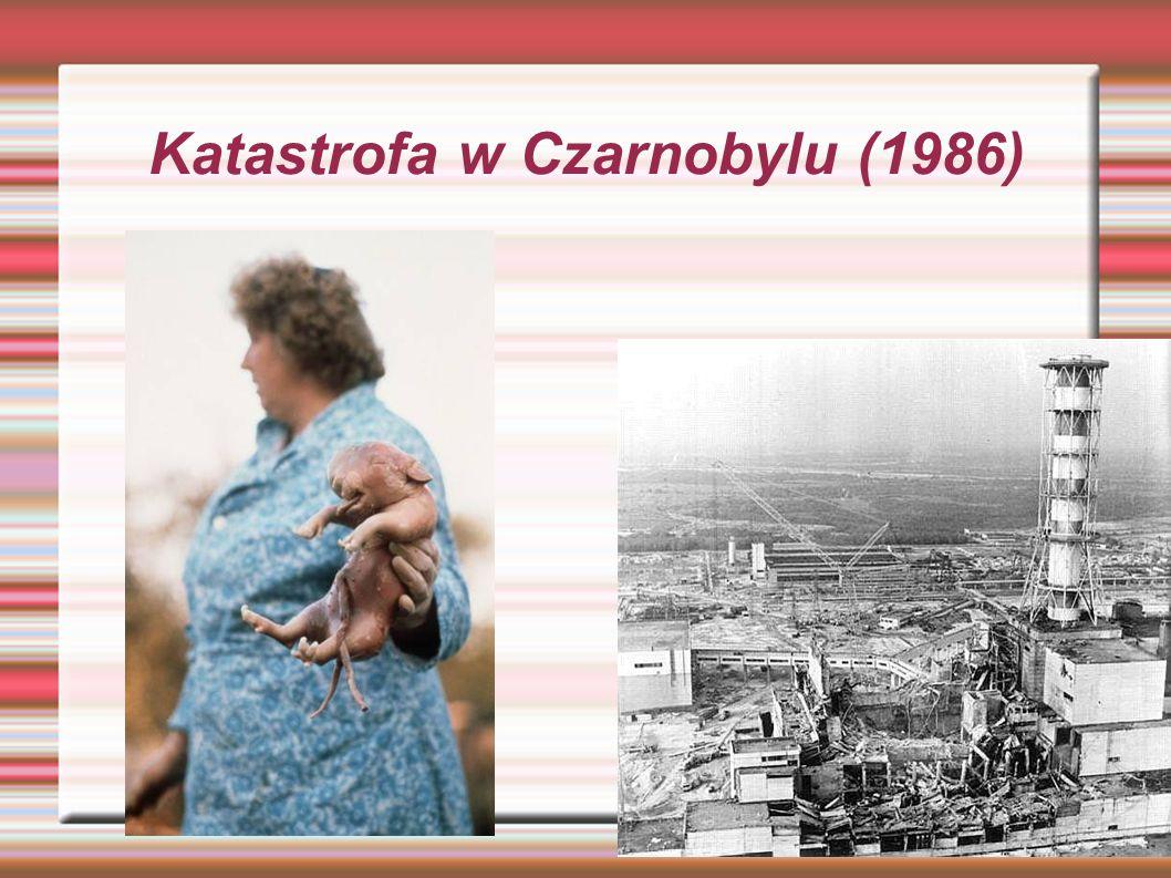 Katastrofa w Czarnobylu (1986)