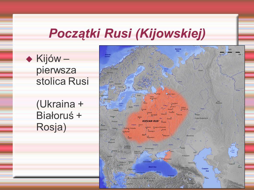 Początki Rusi (Kijowskiej)