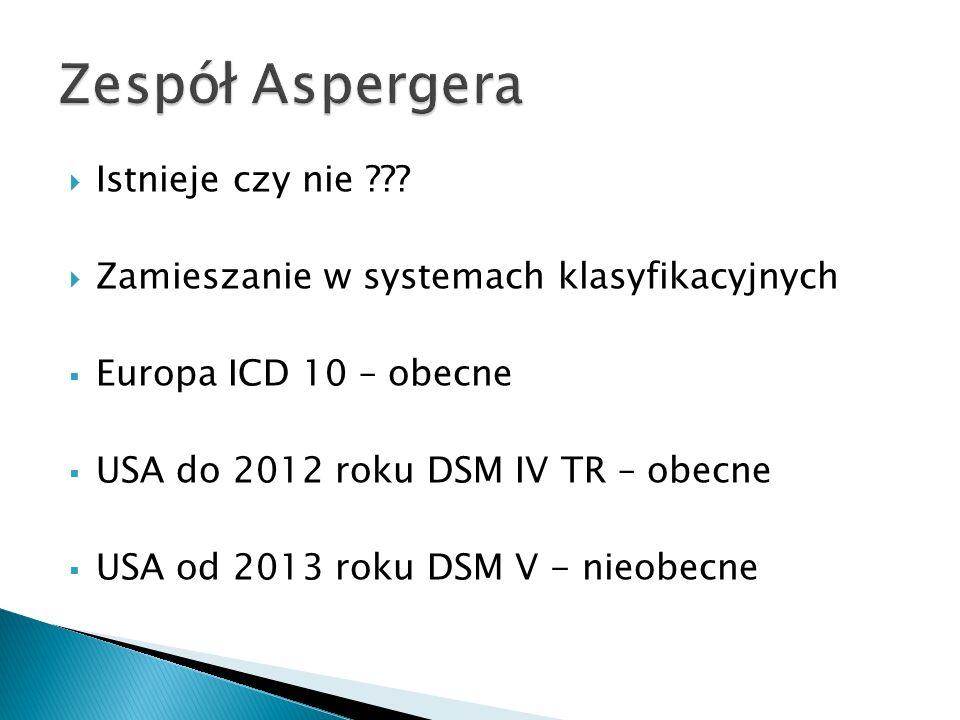 Zespół Aspergera Istnieje czy nie