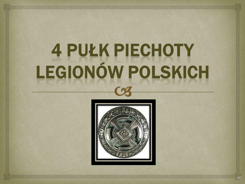 4 Pułk Piechoty Legionów polskich