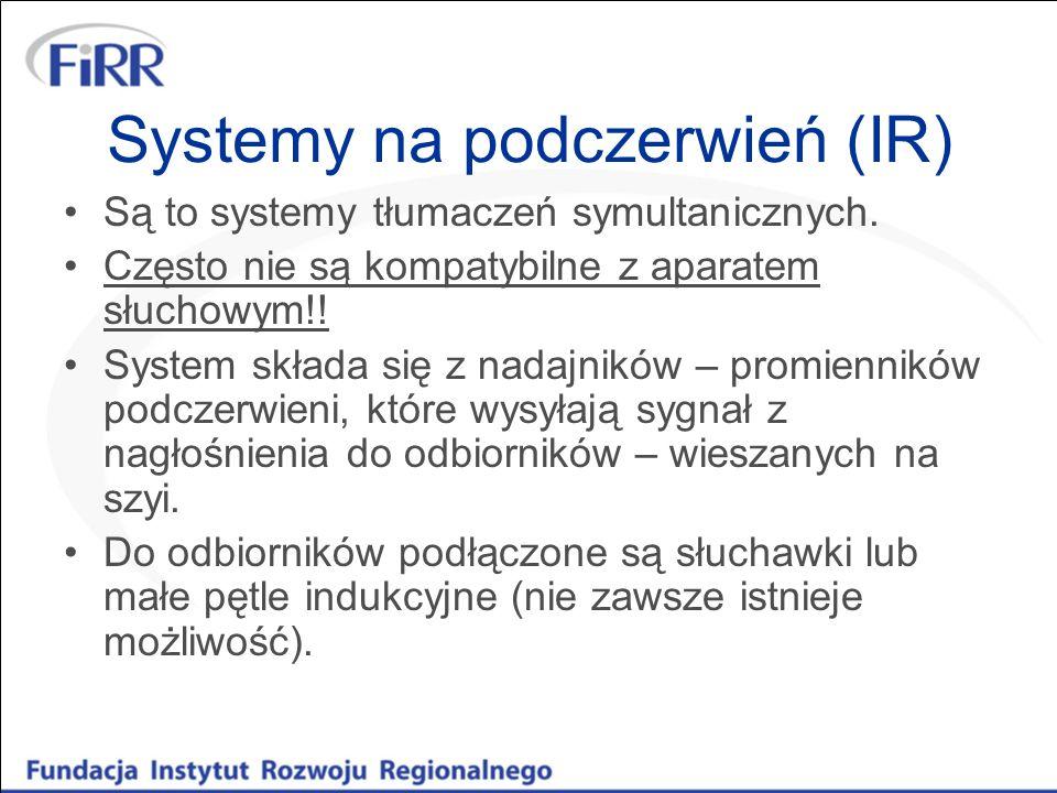 Systemy na podczerwień (IR)