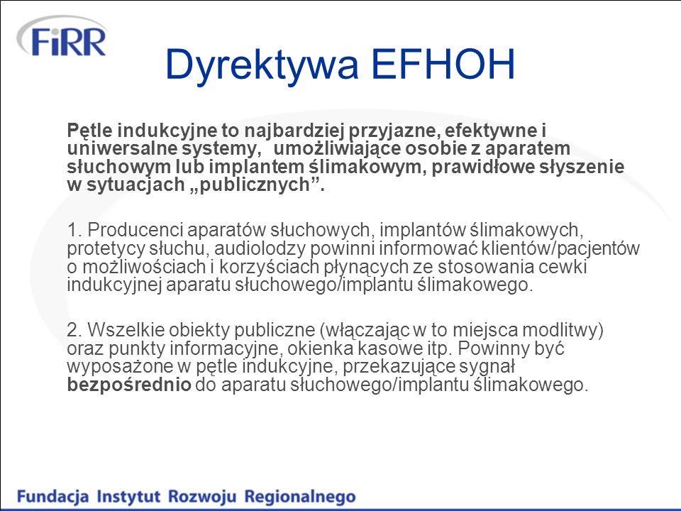 Dyrektywa EFHOH