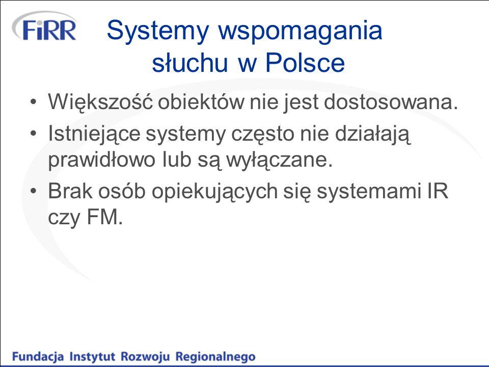 Systemy wspomagania słuchu w Polsce