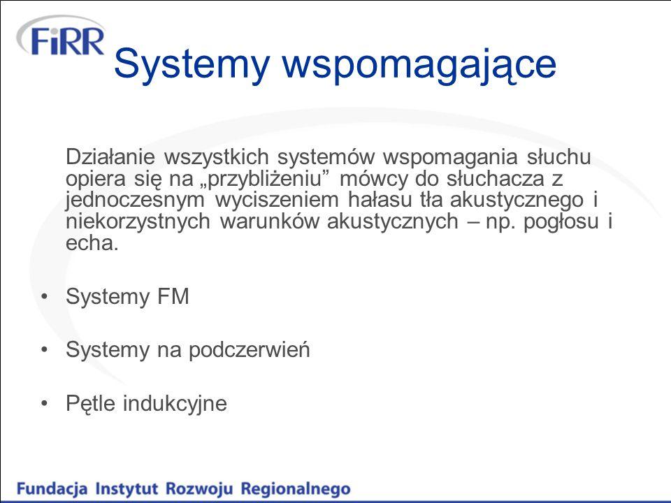 Systemy wspomagające