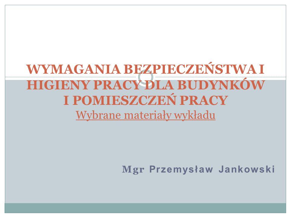 Mgr Przemysław Jankowski