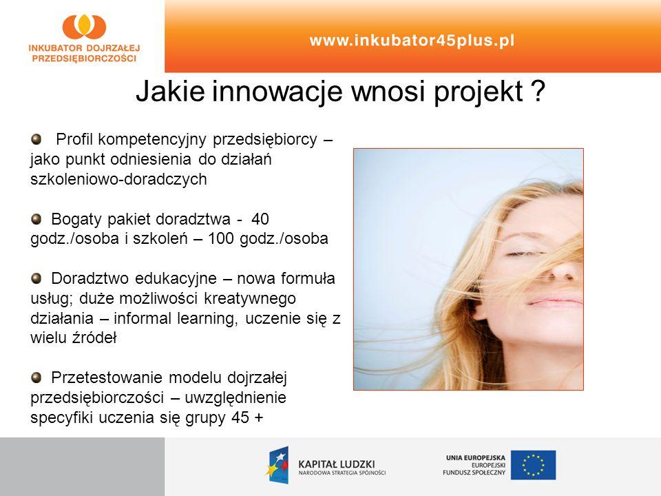 Jakie innowacje wnosi projekt