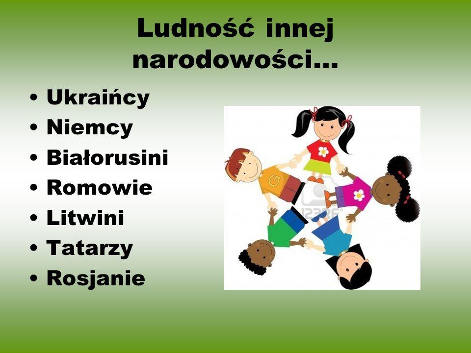 Ludność innej narodowości…