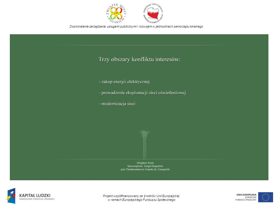 Doskonalenie zarządzania usługami publicznymi i rozwojem w jednostkach samorządu lokalnego