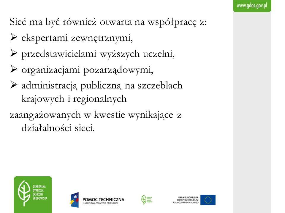 Sieć ma być również otwarta na współpracę z: