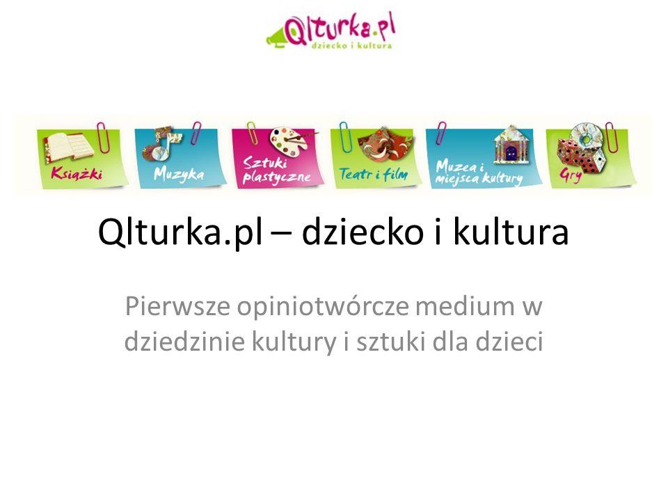 Qlturka.pl – dziecko i kultura