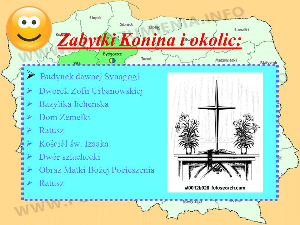 Zabytki Konina i okolic: