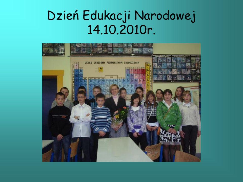 Dzień Edukacji Narodowej 14.10.2010r.