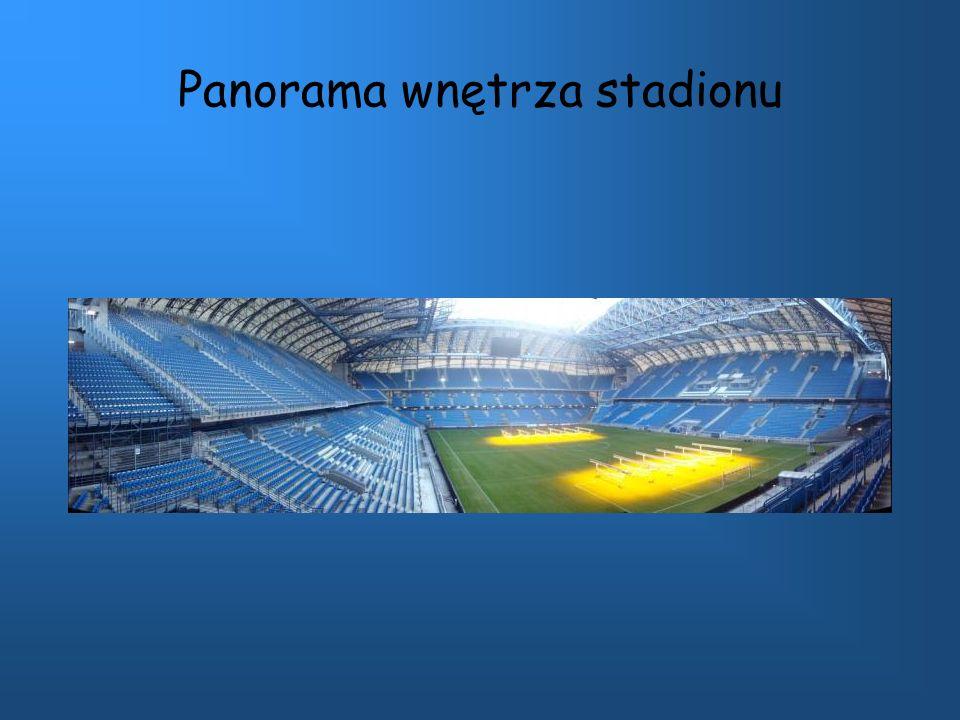 Panorama wnętrza stadionu