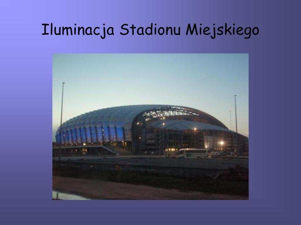 Iluminacja Stadionu Miejskiego