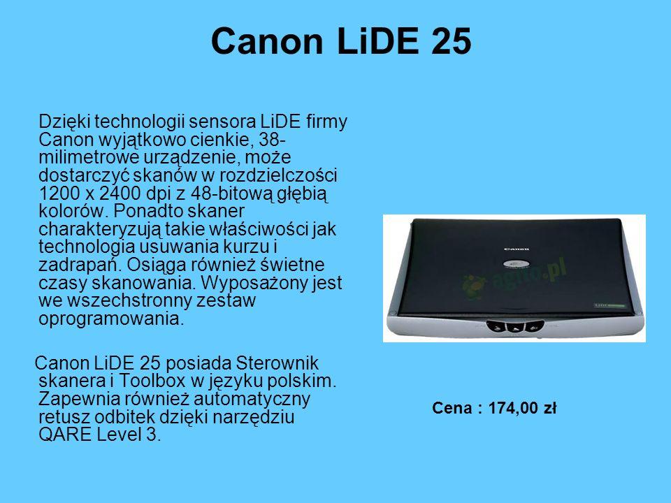 Canon LiDE 25