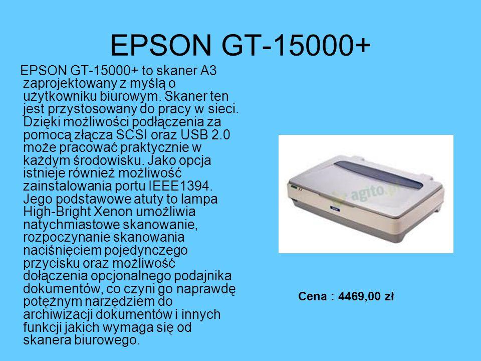 EPSON GT-15000+