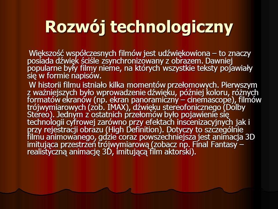 Rozwój technologiczny