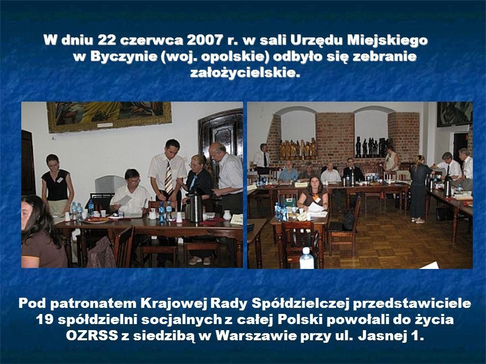 W dniu 22 czerwca 2007 r. w sali Urzędu Miejskiego w Byczynie (woj