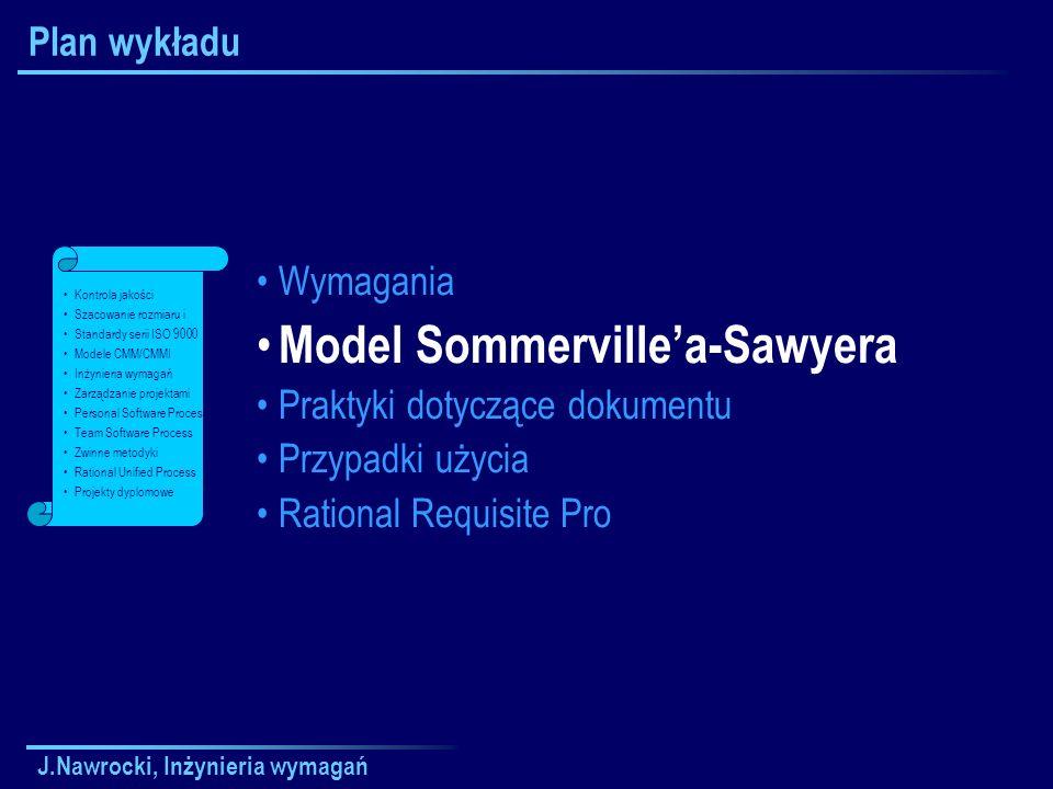 Model Sommerville'a-Sawyera