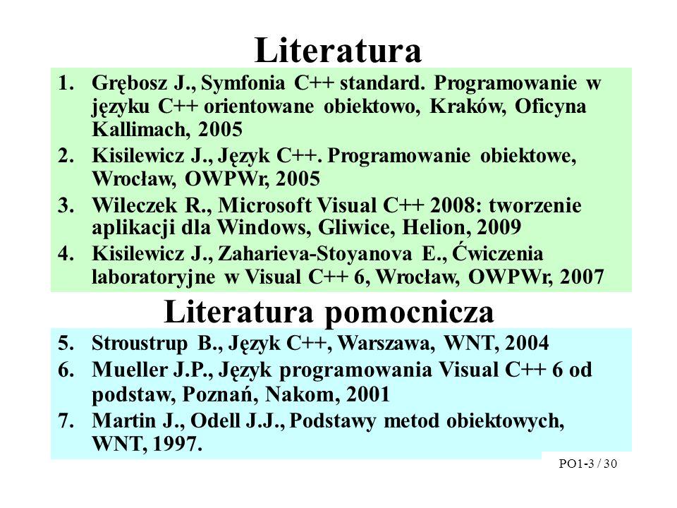 Literatura Literatura pomocnicza