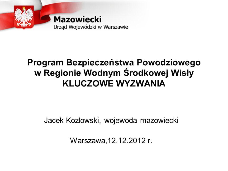 Jacek Kozłowski, wojewoda mazowiecki Warszawa,12.12.2012 r.
