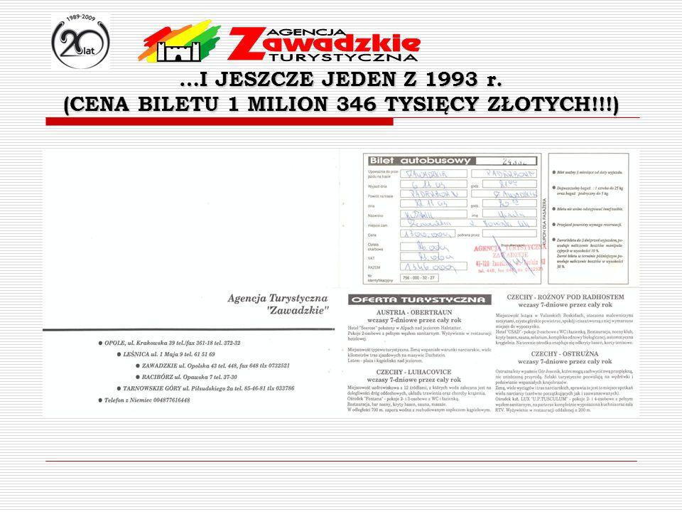 (CENA BILETU 1 MILION 346 TYSIĘCY ZŁOTYCH!!!)
