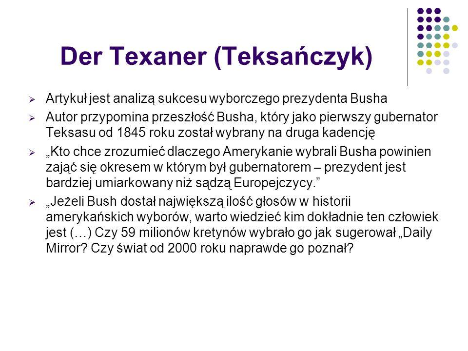 Der Texaner (Teksańczyk)