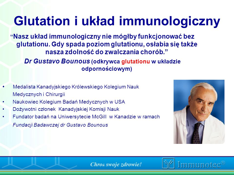 Glutation i układ immunologiczny