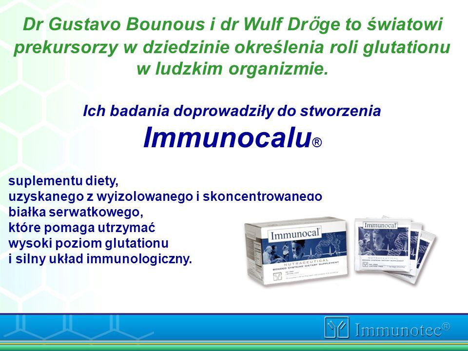 Ich badania doprowadziły do stworzenia Immunocalu®