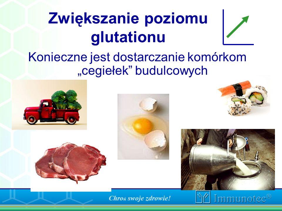 Zwiększanie poziomu glutationu