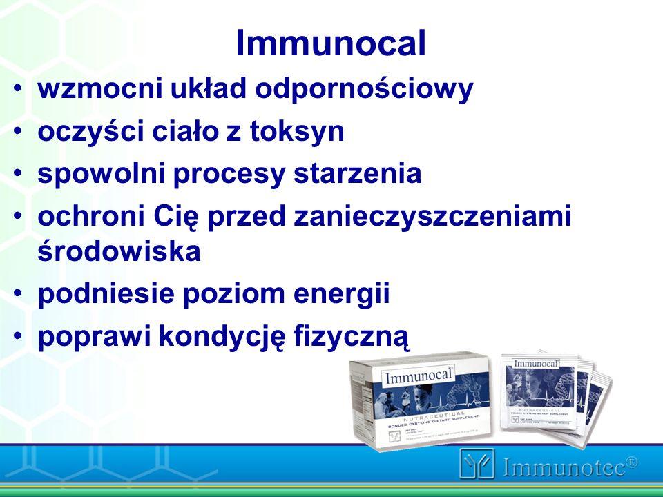 Immunocal wzmocni układ odpornościowy oczyści ciało z toksyn