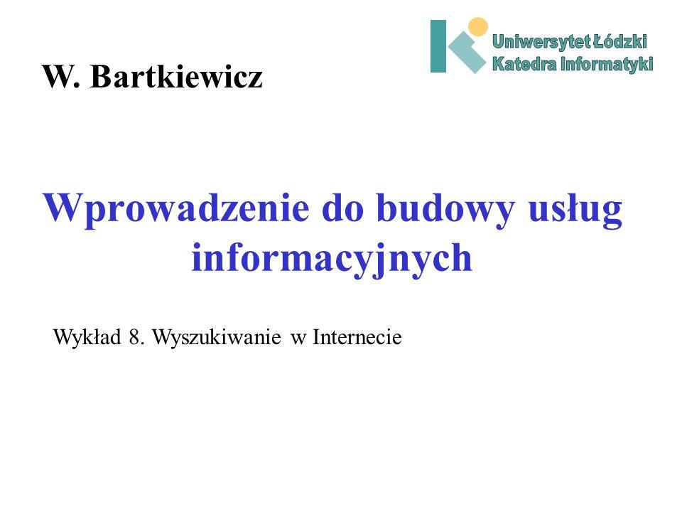 Wprowadzenie do budowy usług informacyjnych