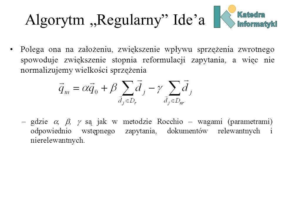 "Algorytm ""Regularny Ide'a"