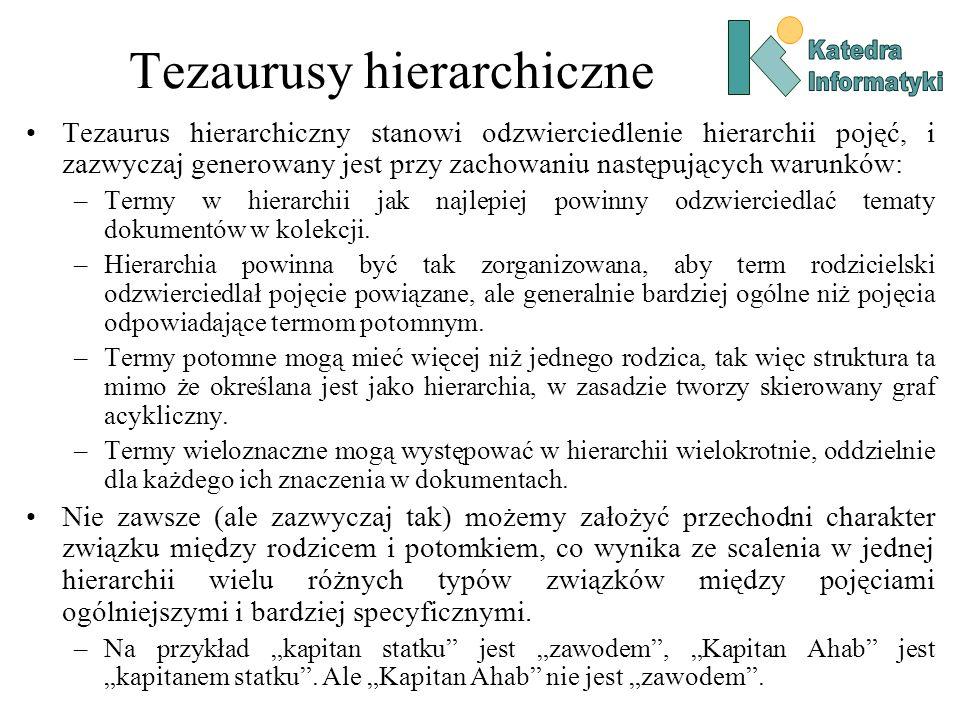 Tezaurusy hierarchiczne