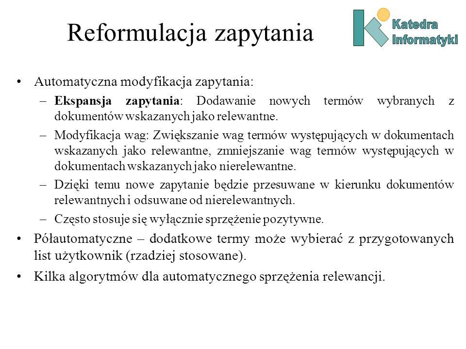 Reformulacja zapytania