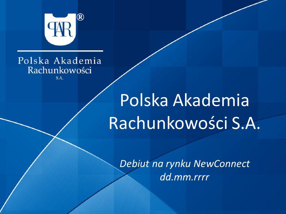 Polska Akademia Rachunkowości S.A.