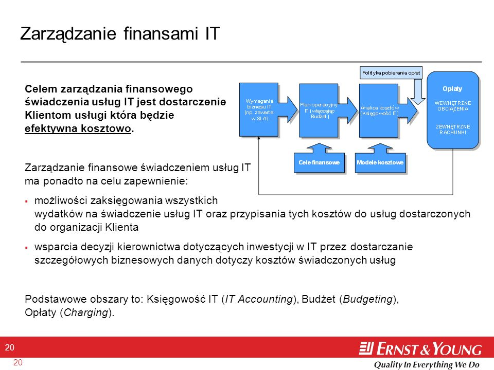 Zarządzanie finansami IT