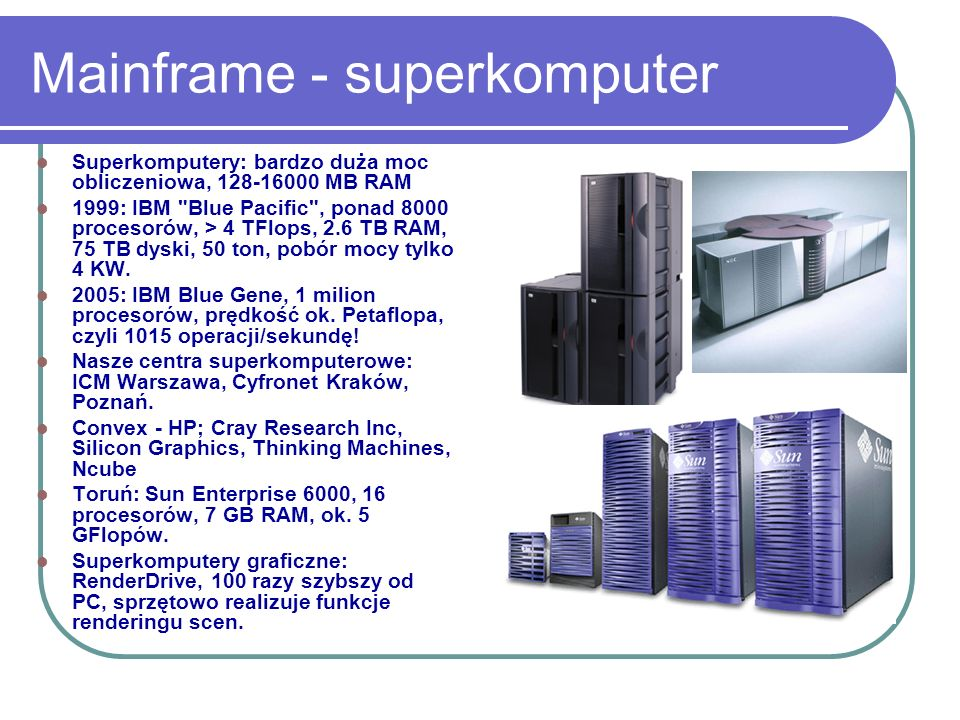 Mainframe - superkomputer
