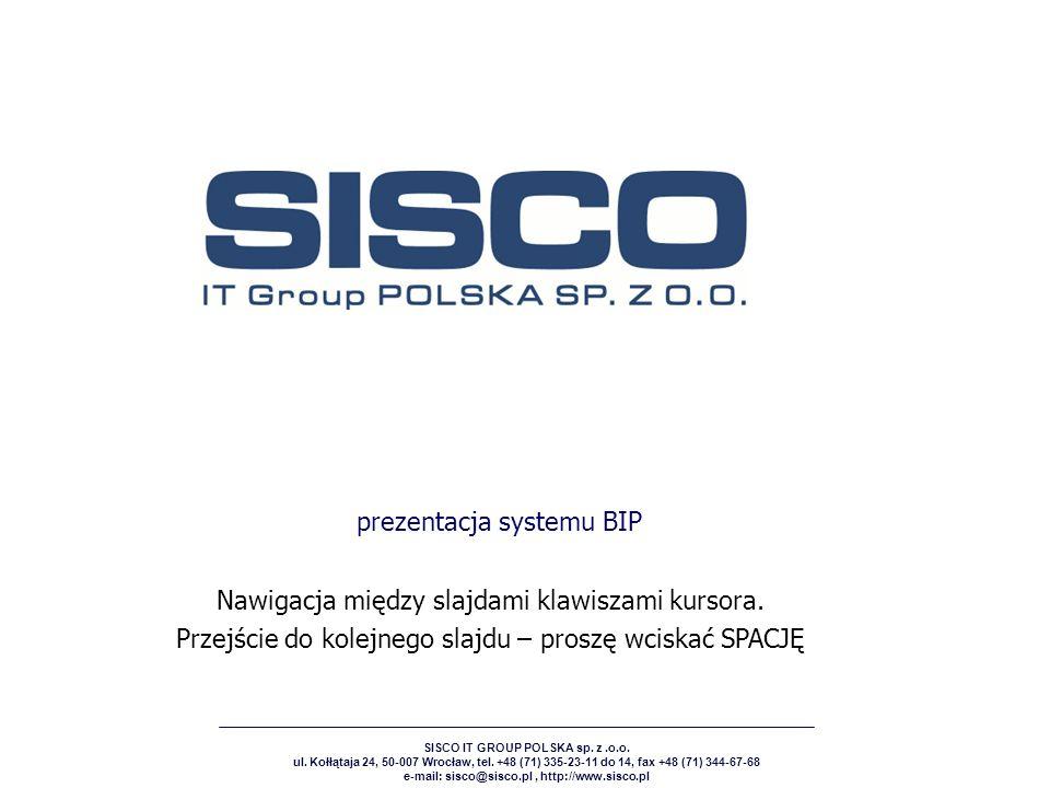 prezentacja systemu BIP