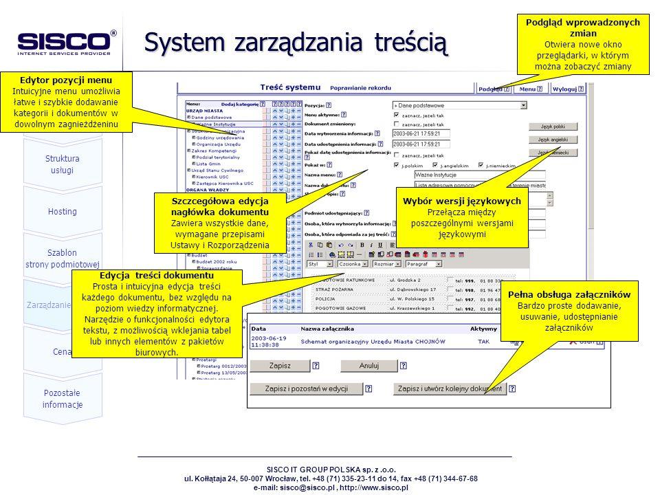 System zarządzania treścią