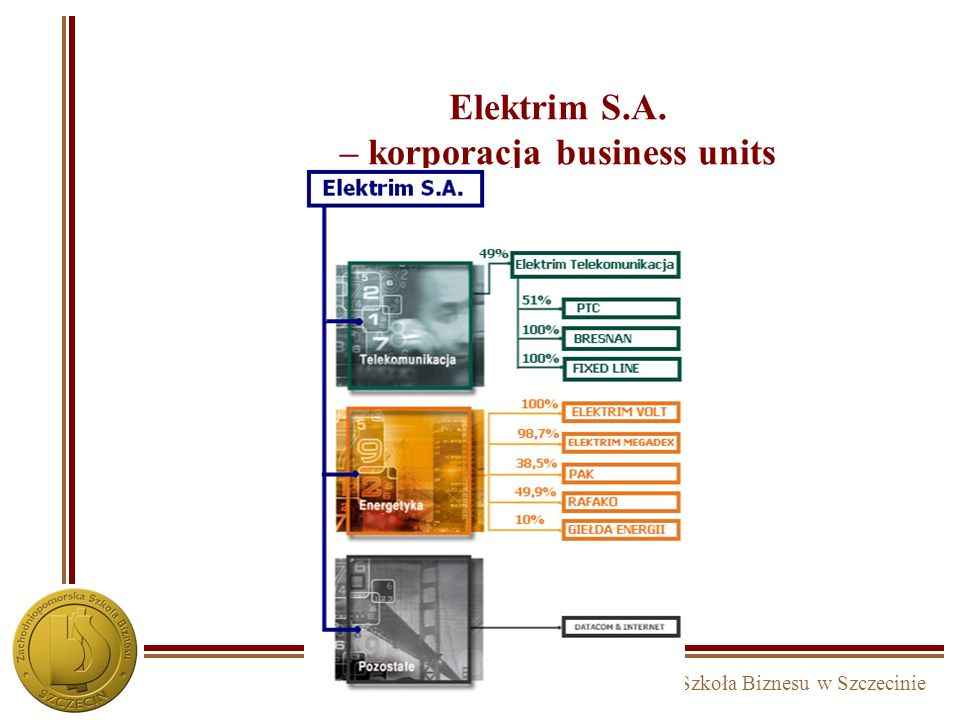 Elektrim S.A. – korporacja business units
