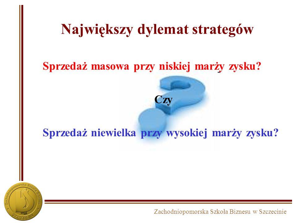 Największy dylemat strategów