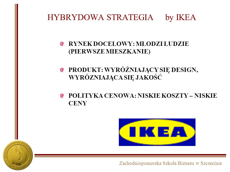 HYBRYDOWA STRATEGIA by IKEA