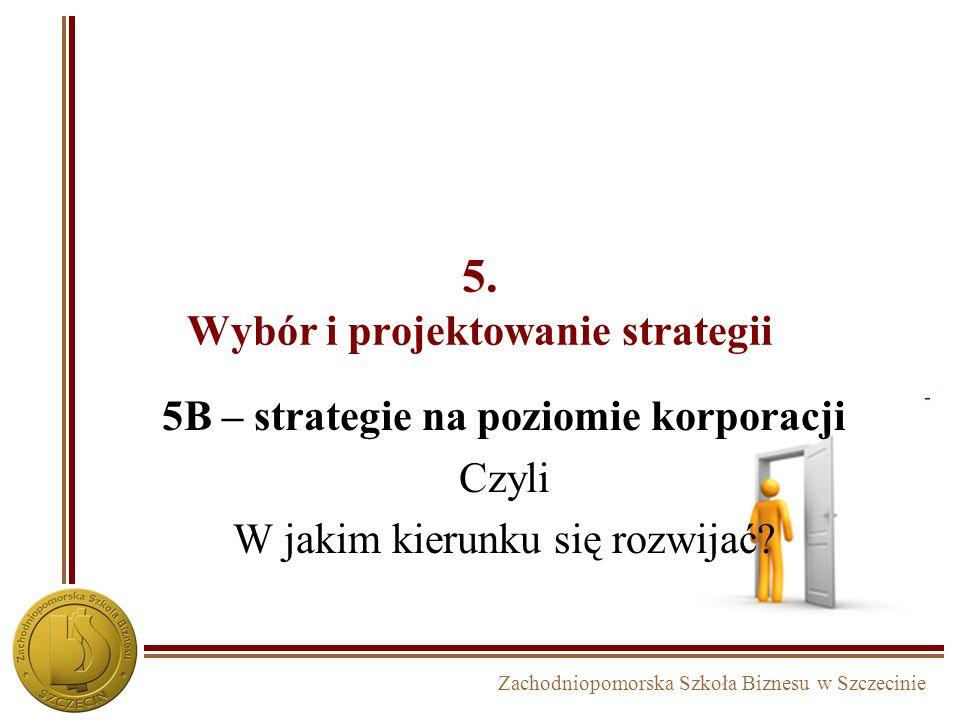 5. Wybór i projektowanie strategii