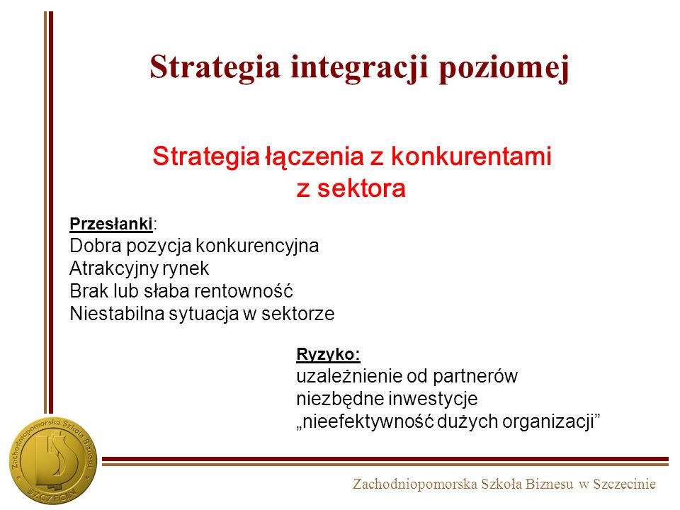 Strategia integracji poziomej