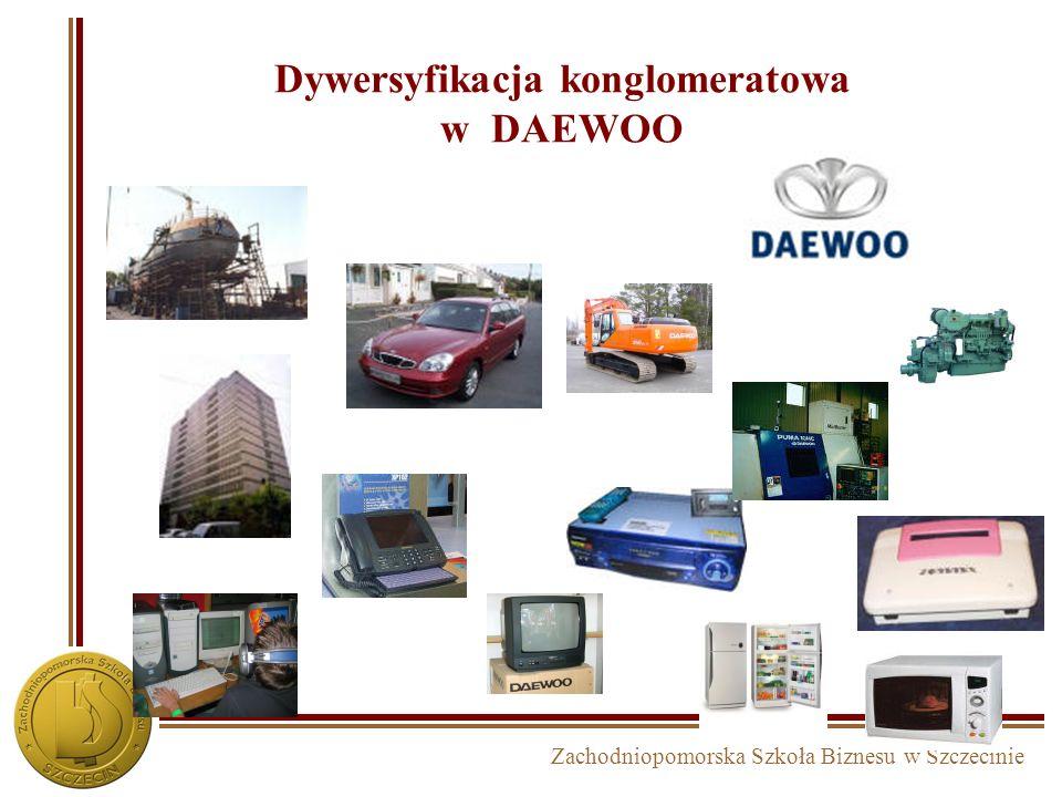 Dywersyfikacja konglomeratowa w DAEWOO