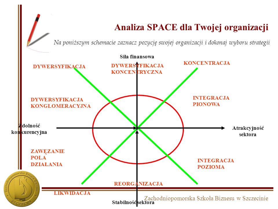 Analiza SPACE dla Twojej organizacji
