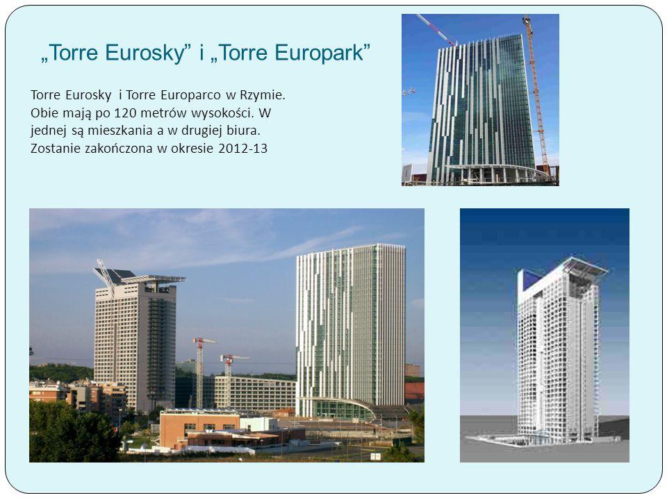 """Torre Eurosky i ""Torre Europark"
