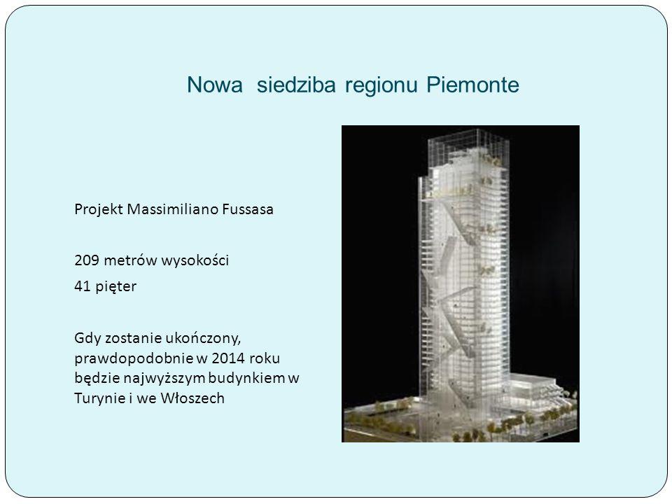 Nowa siedziba regionu Piemonte